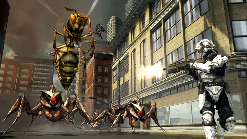 Image from Earth Defense Force: IA