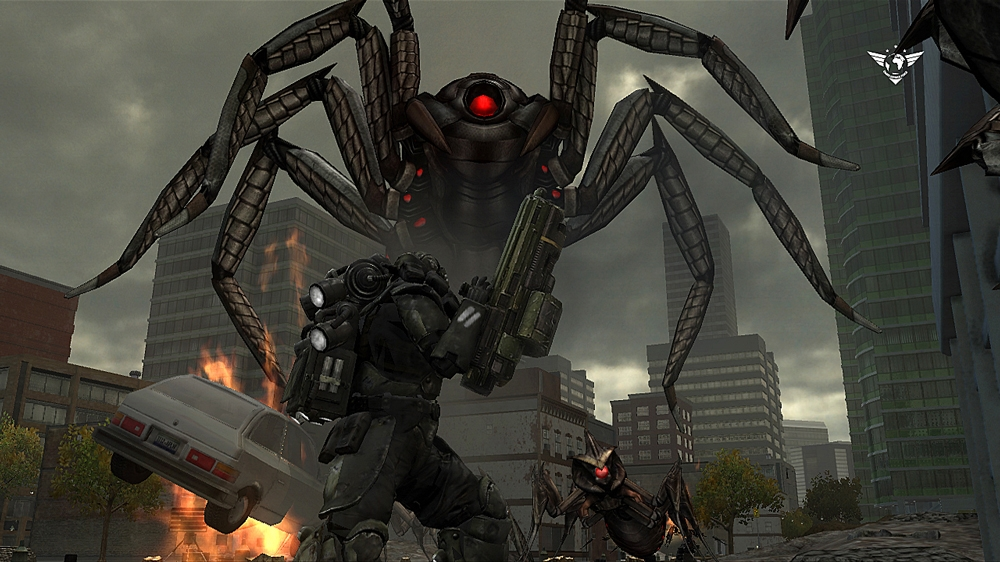 Bilde fra Earth Defense Force: IA