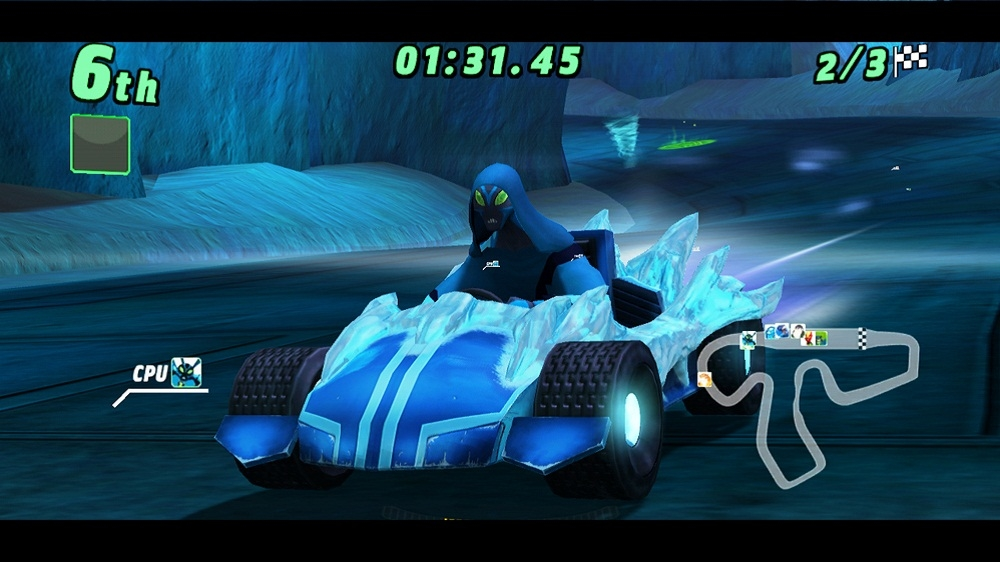 Image from Ben 10™ Galactic Racing