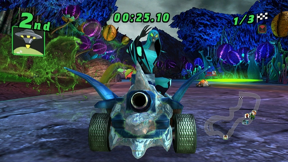 Bilde fra Ben 10 Galactic Racing