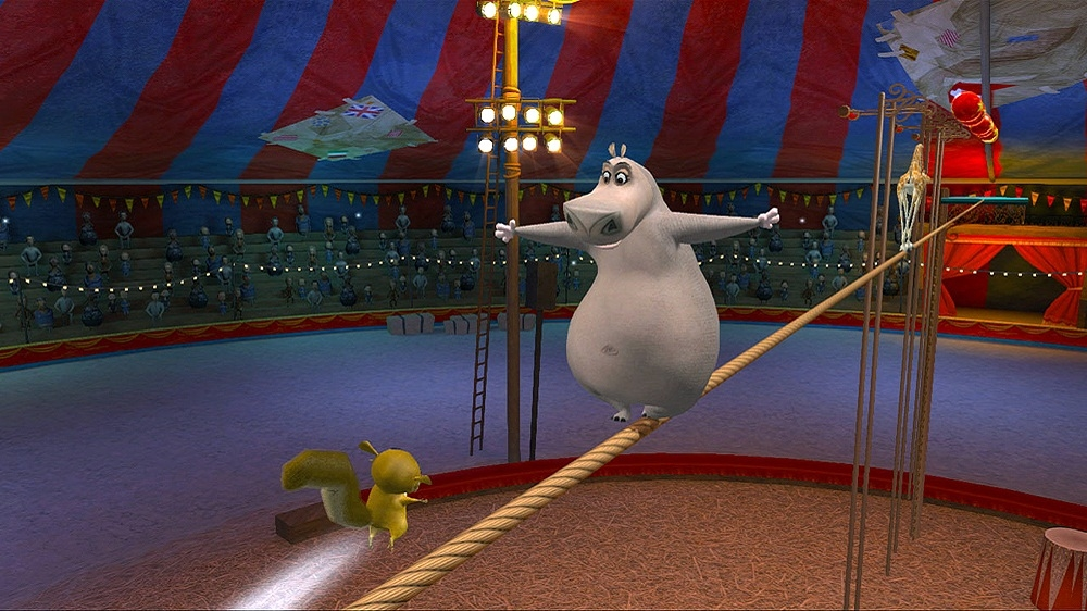 Image from Madagascar 3: The Video Game