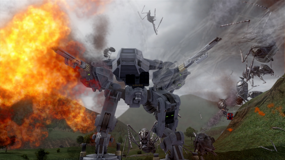 Immagine da Earth Defense Force 2025