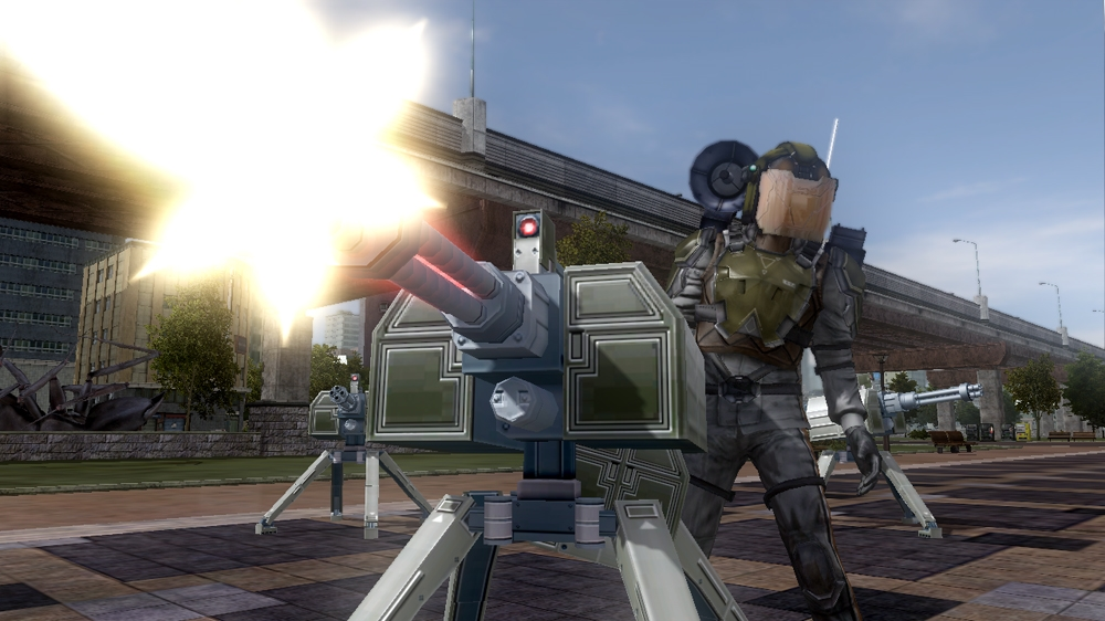 Image from Earth Defense Force 2025