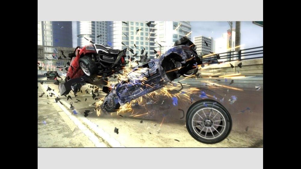 Snímek ze hry Burnout Revenge