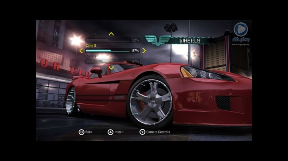 Snmek ze hry Need for Speed Carbon