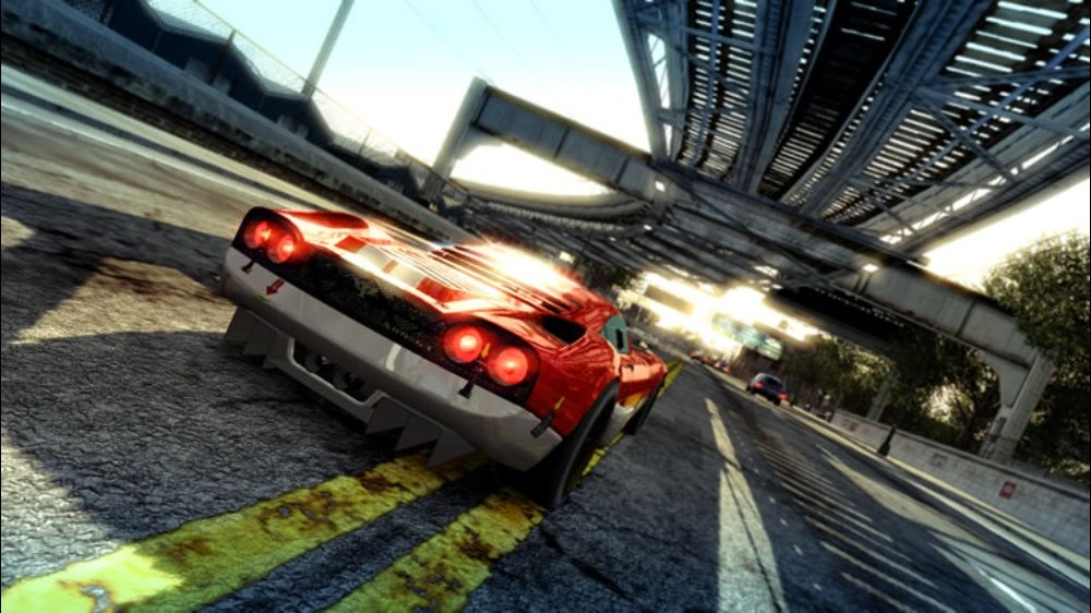 Snímek ze hry Burnout Paradise
