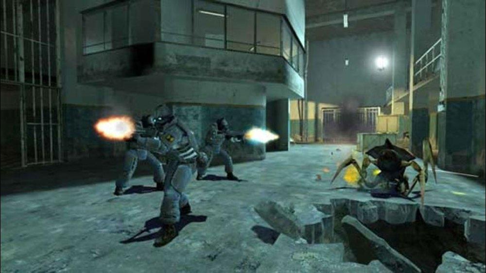 Snímek ze hry The Orange Box