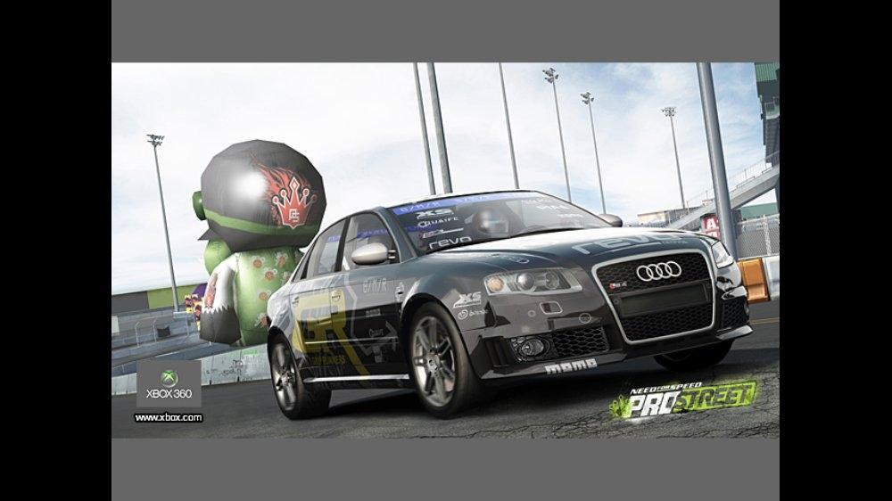 Snímek ze hry NFS ProStreet