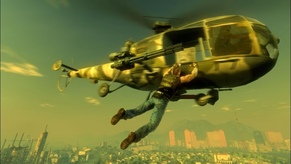 Image from Mercenaries 2