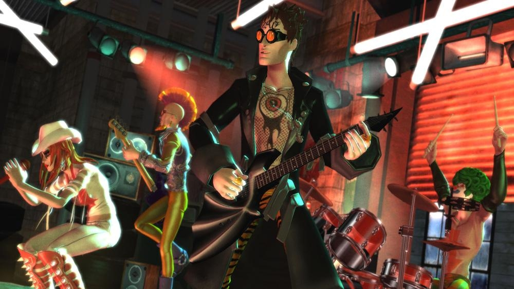 Image from Rock Band 2