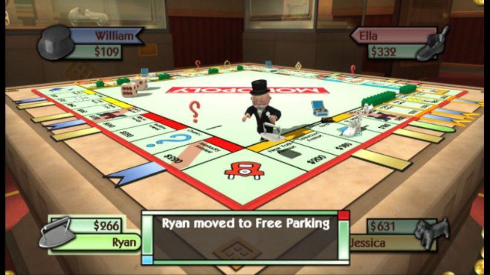 Snímek ze hry MONOPOLY