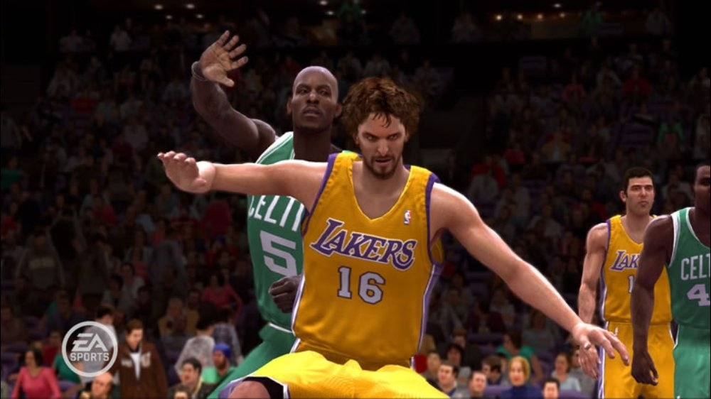Image from NBA LIVE 09