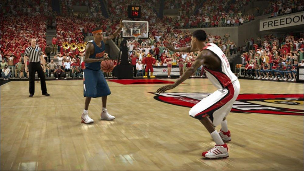 Image from NCAA® Basketball 09