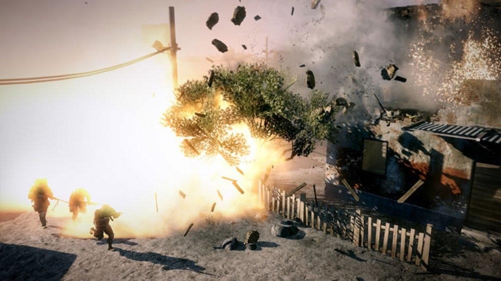 Snímek ze hry Battlefield: Bad Co. 2