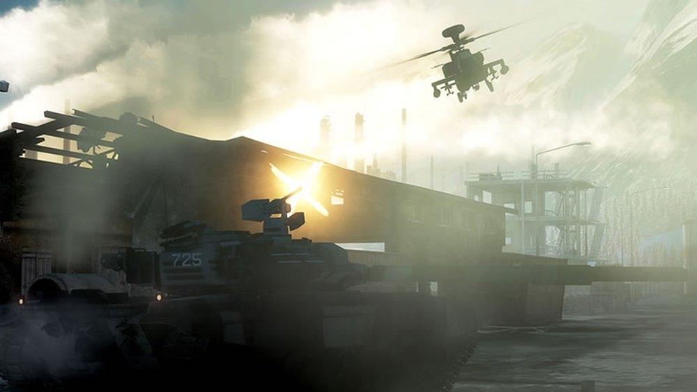 Snímek ze hry Battlefield Bad Company 2