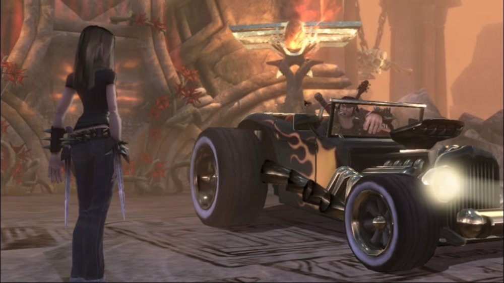 Image from Brütal Legend