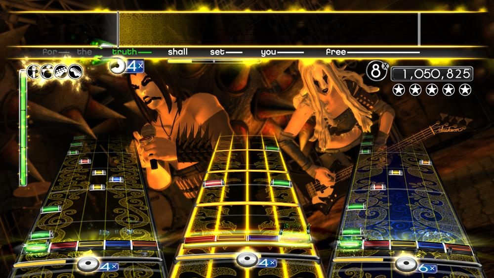 Image from Rock Band Metal Pack