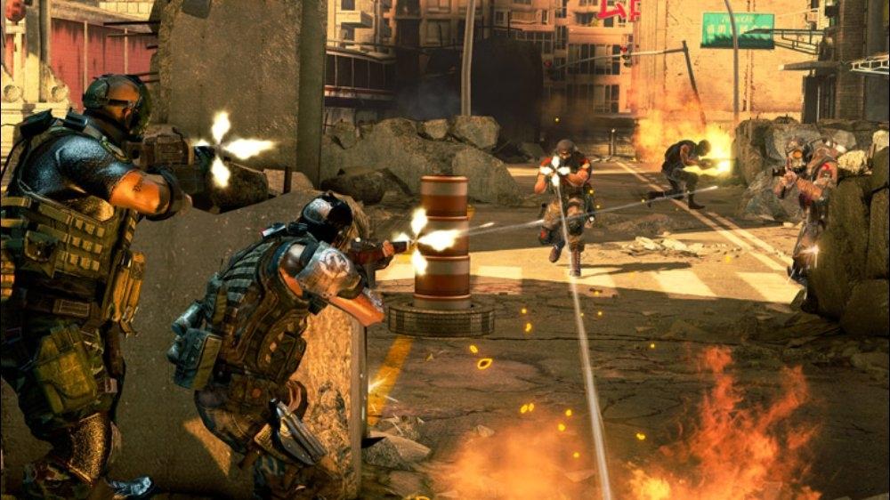 Snímek ze hry Army of TWO™: TFD