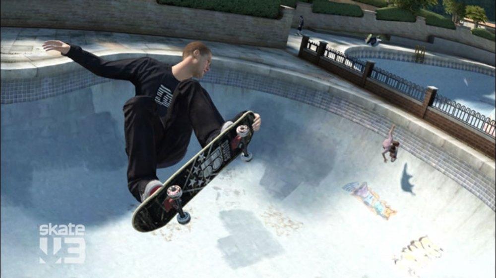 Snímek ze hry Skate 3