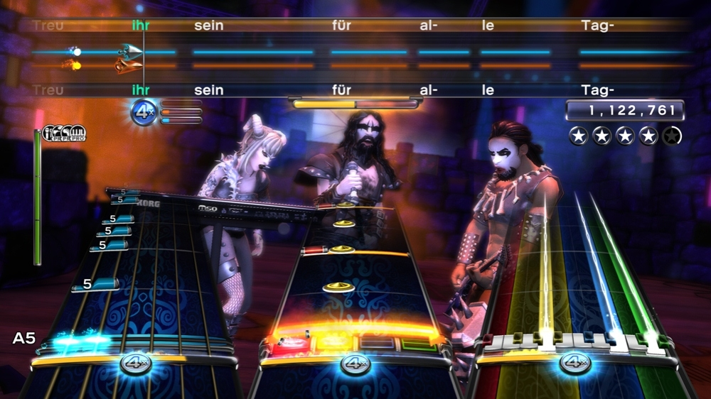 Kuva pelist Rock Band 3