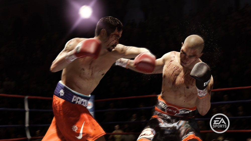 Snímek ze hry FIGHT NIGHT CHAMPION
