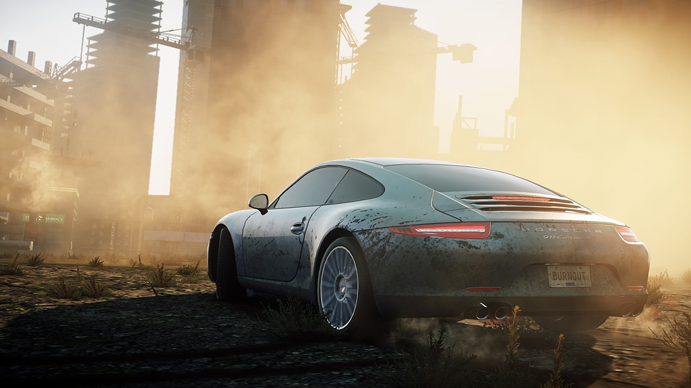 Image from NEED FOR SPEED MOST WANTED