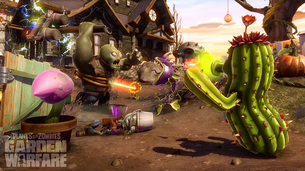 Plants vs Zombies Garden Warfare 이미지