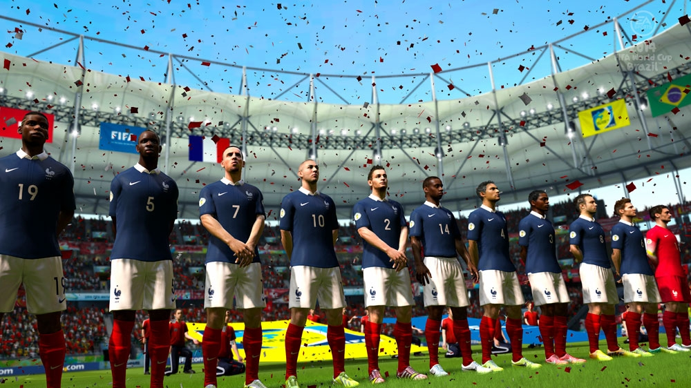Image from EA SPORTS™ 2014 FIFA World Cup Brazil™
