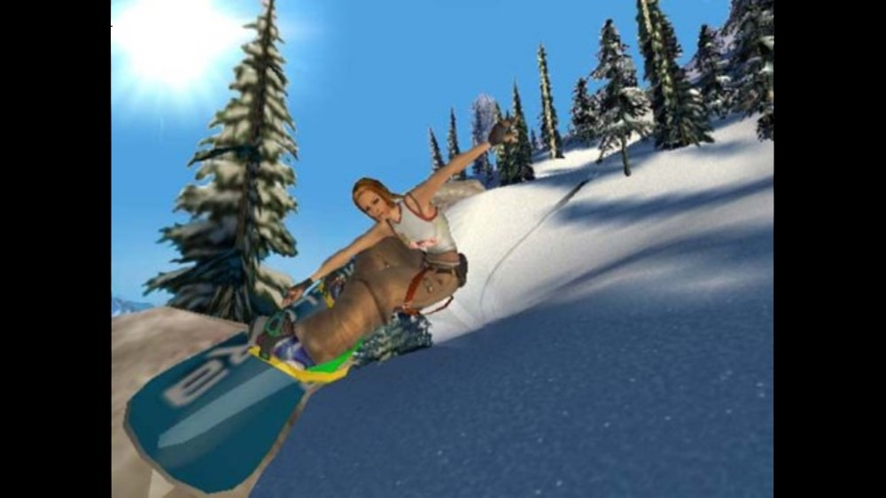 Obrázok z hry SSX 3