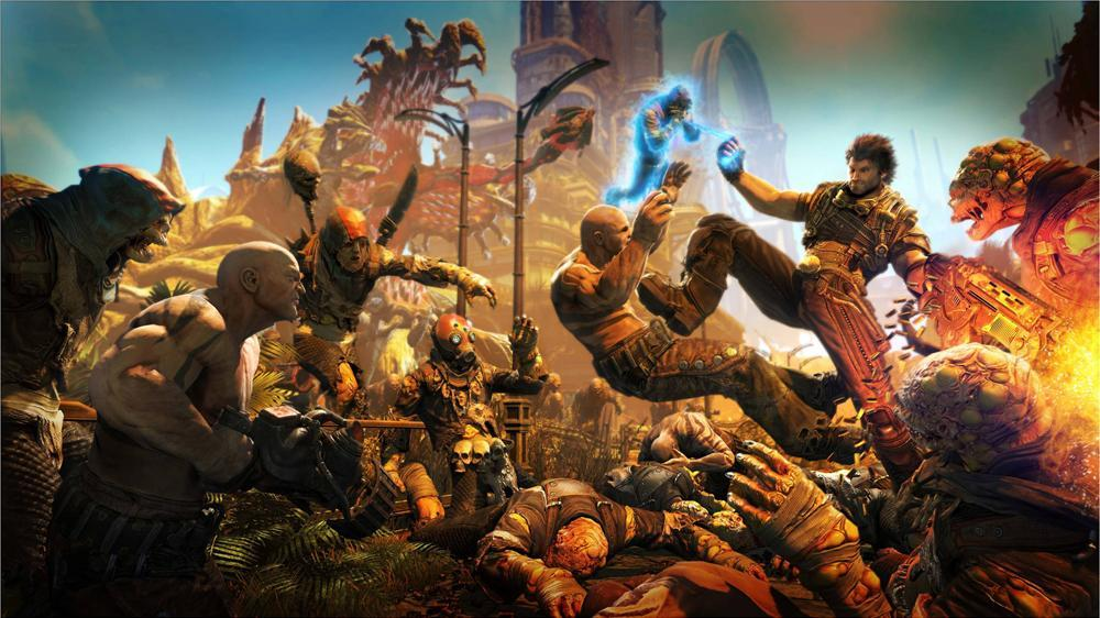 Image from Bulletstorm™ Demo