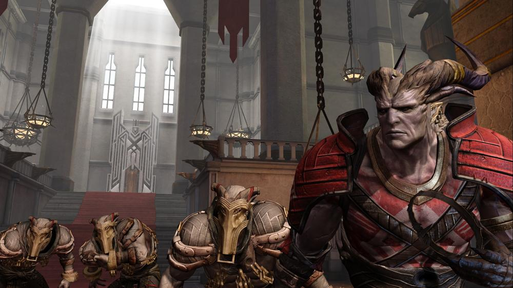 Snmek ze hry Dragon Age II Demo 