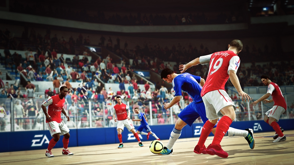 Image from FIFA Street Demo