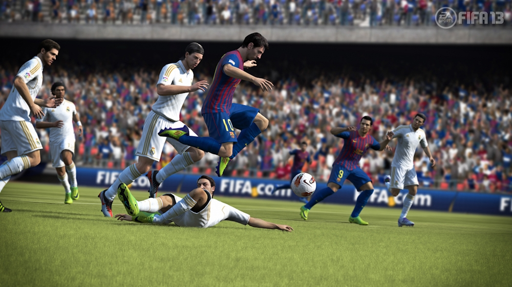 Image from EA Sports  FIFA Soccer 13 Demo