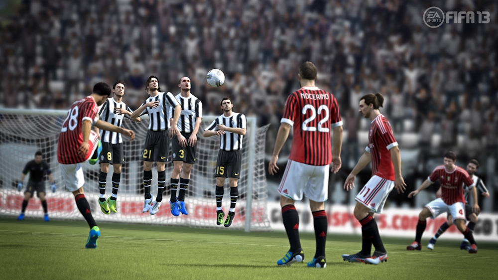 Image from EA Sports ™ FIFA Soccer 13 Demo