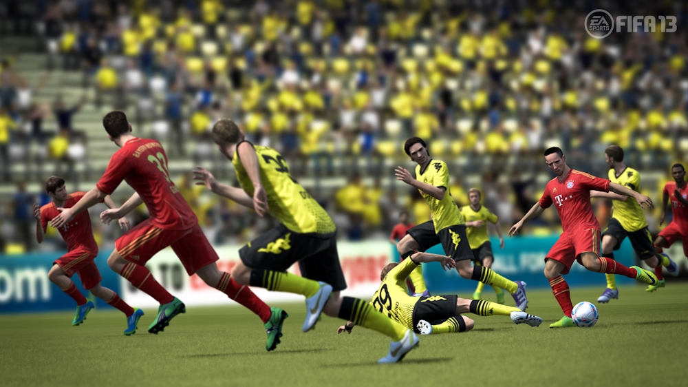 Image from EA Sports ™ FIFA 13 Demo