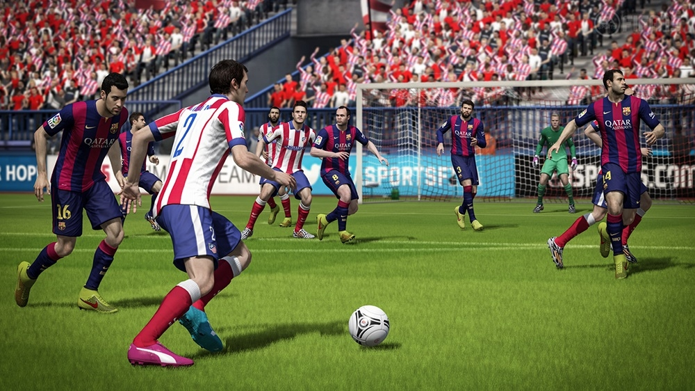 Image from FIFA 15 Downloadable Demo