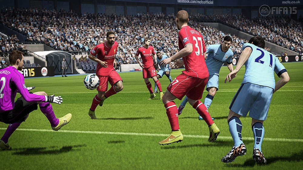 FIFA 15 İndirilebilir Demo oyunundan görüntü
