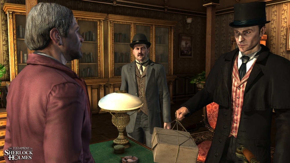 Imagem de The Testament of Sherlock Holmes