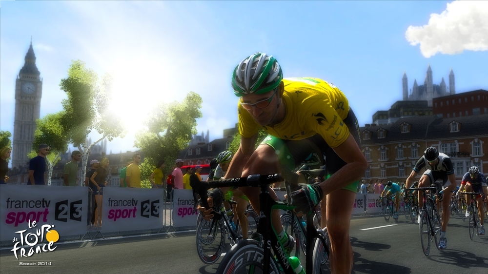 Image from Tour de France 2014