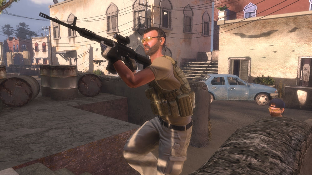 Image from Blackwater Kinect