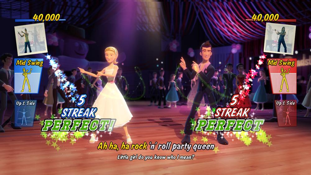 Image from Grease Dance Demo