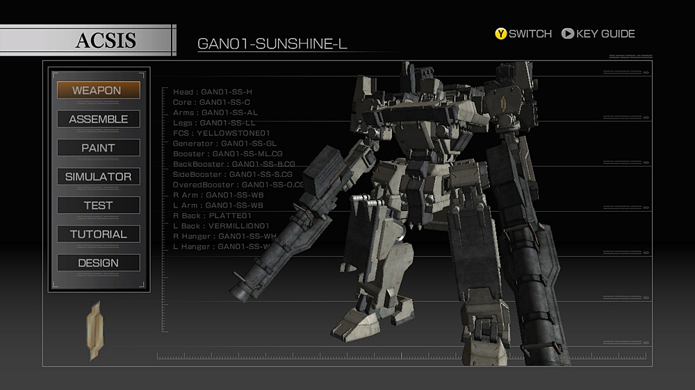 Image from ARMORED CORE4