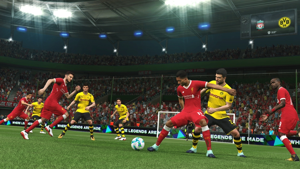 Image from PRO EVOLUTION SOCCER 2018