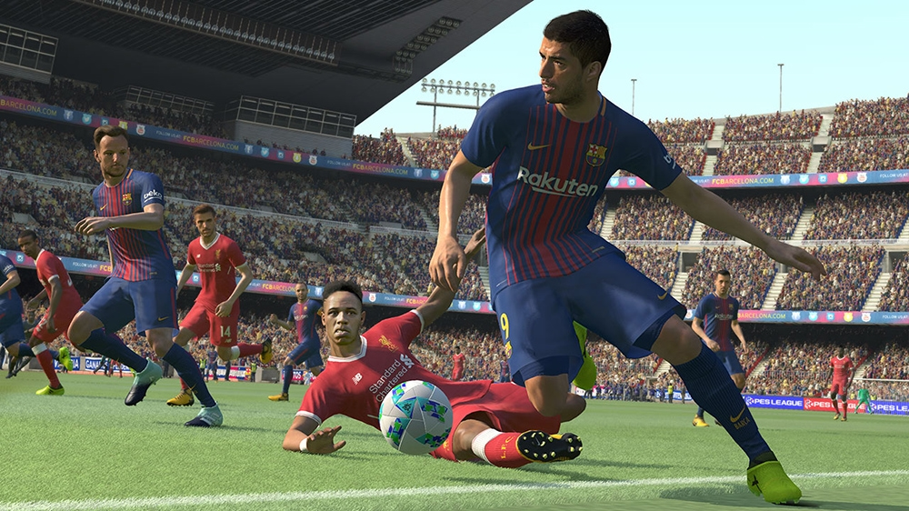 Image from PRO EVOLUTION SOCCER 2018 DEMO