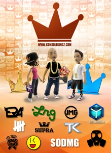 Konsole Kingz Flying Crowns Premium Theme