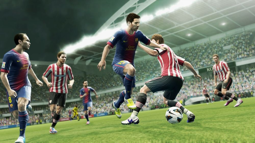 Bild från Pro Evolution Soccer 2013 Demo No. 2