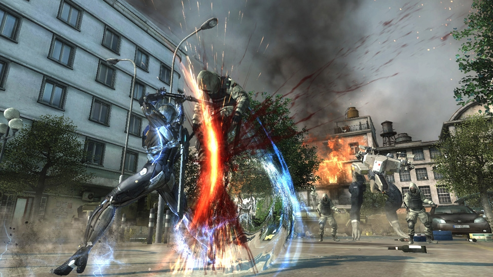 Bild från METAL GEAR RISING: REVENGEANCE DEMO