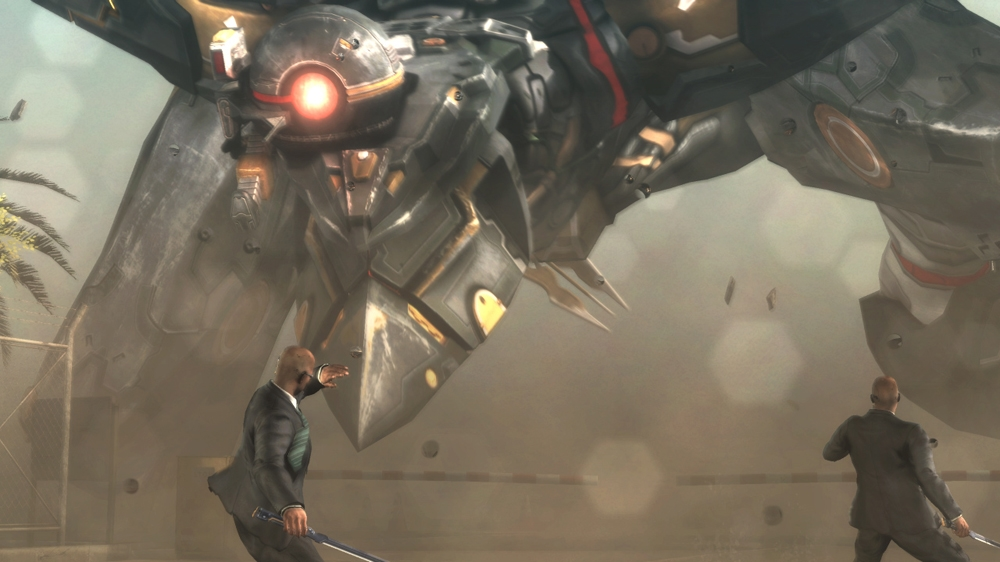 Image from METAL GEAR RISING: REVENGEANCE DEMO