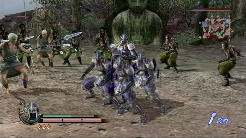 Image from SAMURAI WARRIORS 2