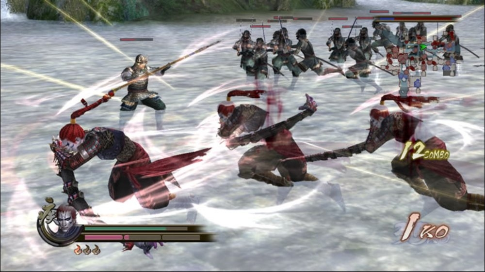 Kuva pelist SAMURAI WARRIORS 2